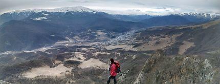 La montagne Apakekar, Arménie