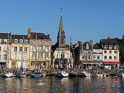 Petit port d'Honfleur