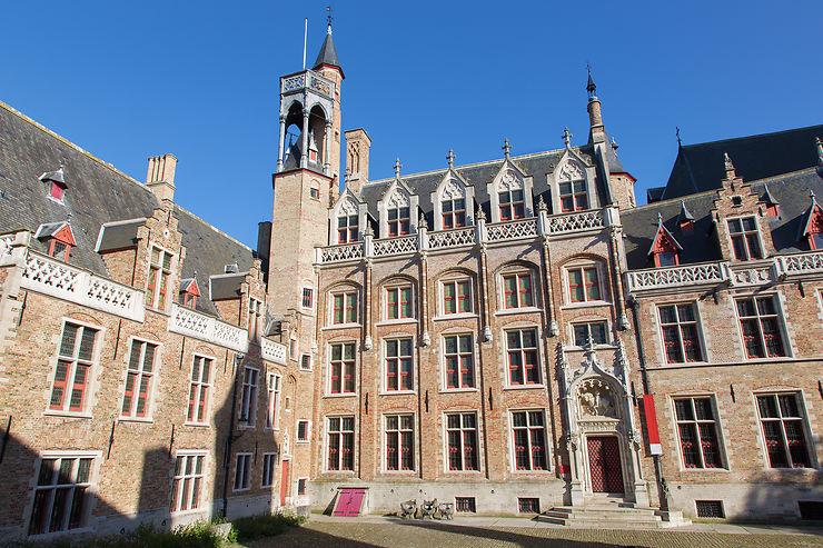 Dans le palais des Gruuthuse de Bruges