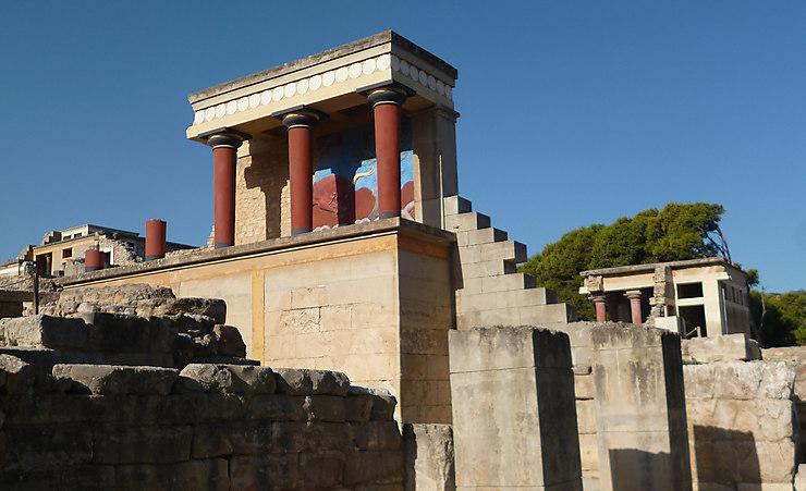 D'Héraklion à Knossos : rencontre avec des hommes remarquables