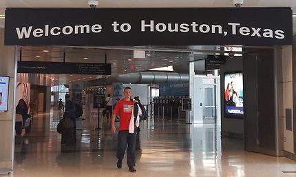 Aéroport de Houston, Texas
