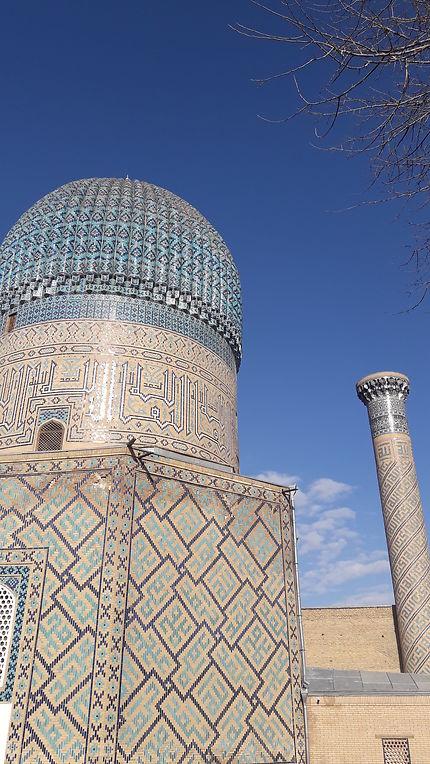 Le dôme turquoise de Samarkand, Gour Emir