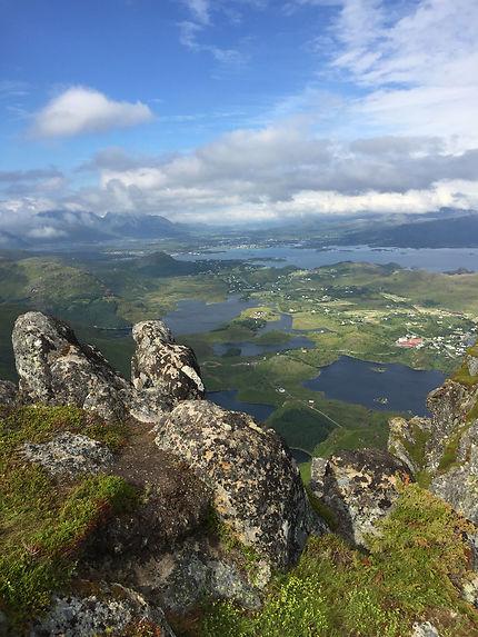 Randonnée depuis Ballstadlandet