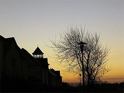 Coucher de soleil sur Port Guillaume