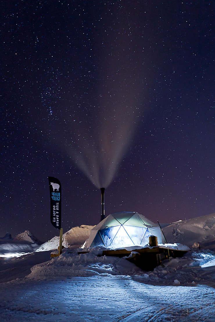 Dormir dans un hôtel en neige à La Plagne (Savoie)