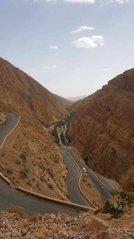 Vallée des gorges du Dadès, Maroc