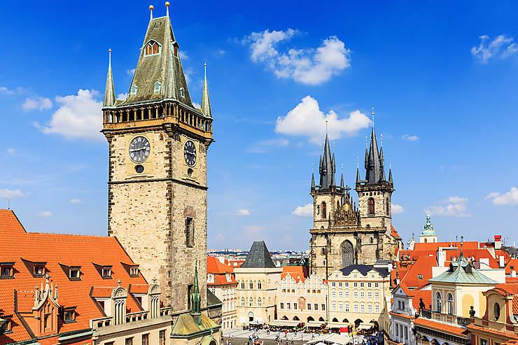 Staré Město et Josefov : églises baroques et synagogues