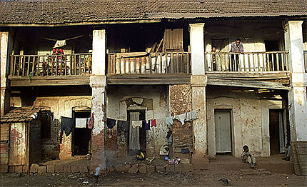 Maison d'Antsirabe et ses habitants