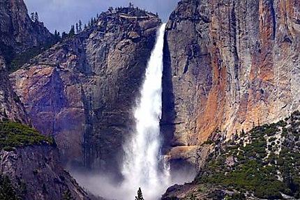 Yosemite Park chute d'eau