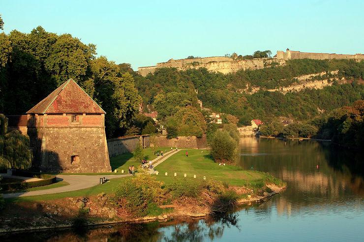 Citadelle, enceinte urbaine et fort Griffon de Besançon, Doubs
