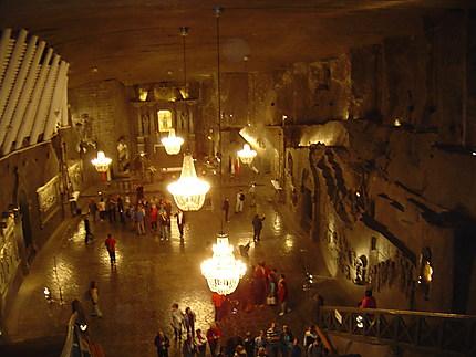 Wieliczka : mines de sel