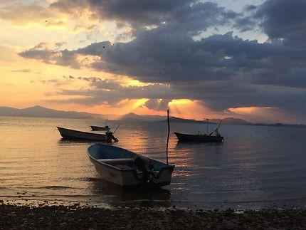 Tranquillité au bord de la mer