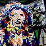 Street art (Edith Piaf)