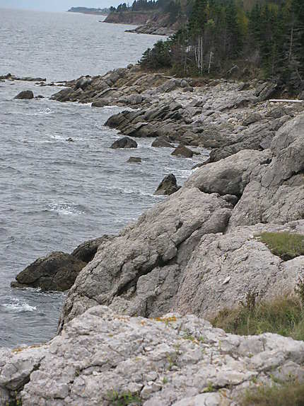 Reliefs de 400 millions d'années en Gaspésie