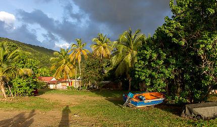 Plage de l'Anse Caraïbe à Pointe-noire