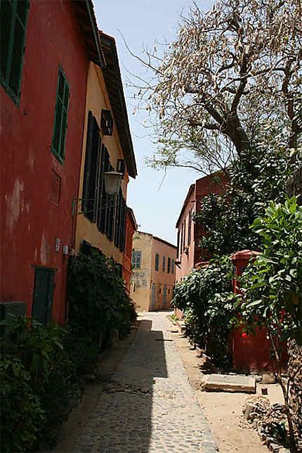 Petite rue de Gorée