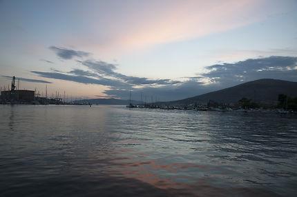 Dans le port de Trogir
