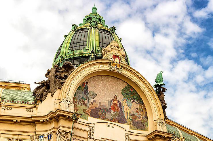 Staré Město et Nové Město : Art nouveau et modernité