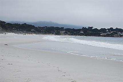 Grisaille sur Carmel Beach