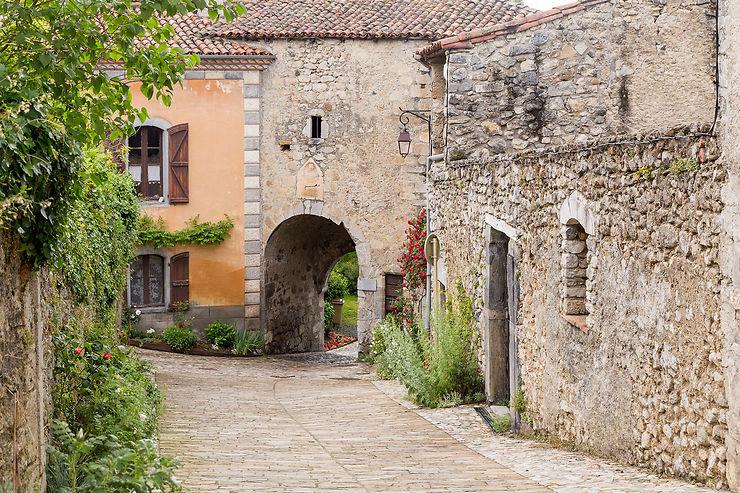 La ville haute de Saint-Bertrand-de-Comminges