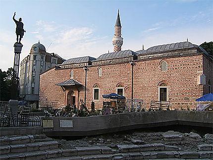 Plovdiv mosquée et stade antique
