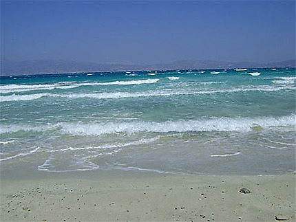 Plage de l'île de Chrissi