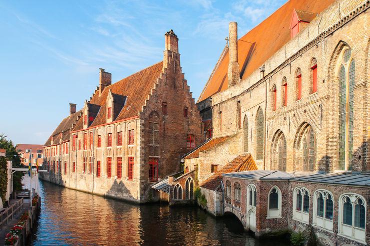 Balade vers le béguinage de Bruges
