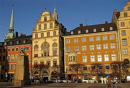 Stockholm, vieille ville