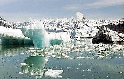 Icebergs Valdez Alaska