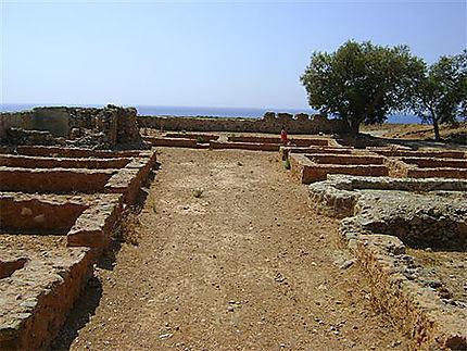 Ruines de l'ancien palais vénitien
