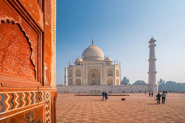Taj Mahal et Delhi (Inde)