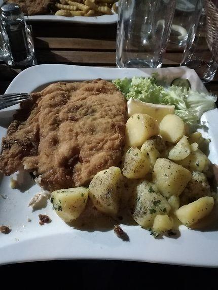 Wiener Schnitzel, à Vienne