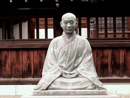 Statue Sawaki Kodo Roshi, temple Sengaku-ji