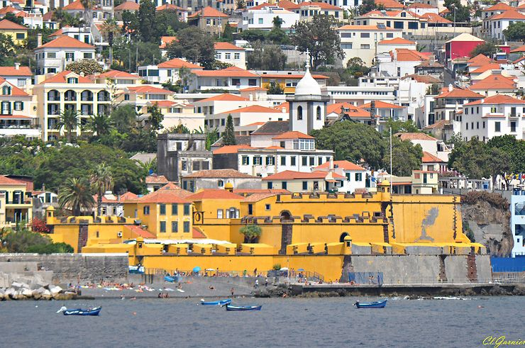 Fort de São Tiago, Funchal, Madère