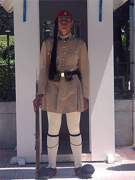 Garde royale au palais présidentiel
