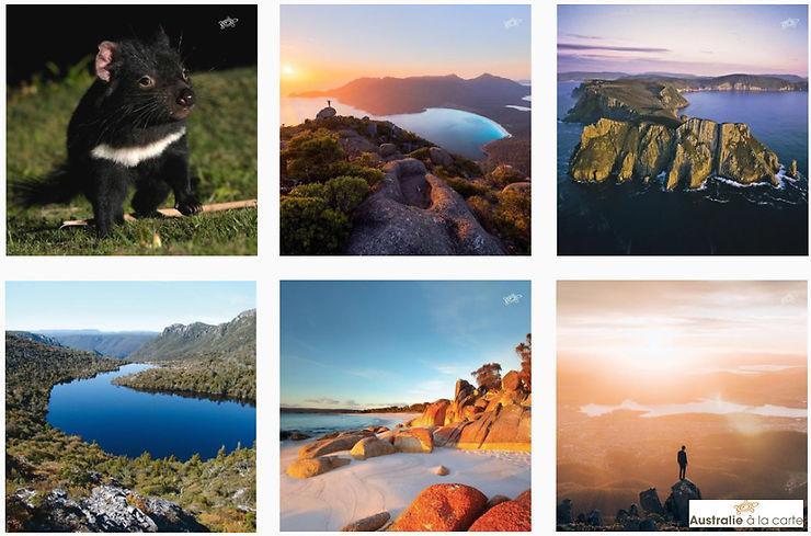 Australie : Découvrez la Tasmanie sur Instagram