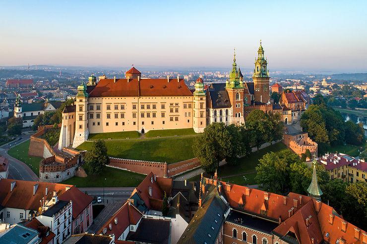 La colline du Wawel : le château et la cathédrale