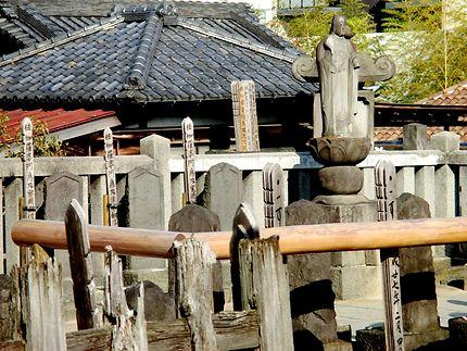 Tombes des 47 ronins au temple Sengaku-ji