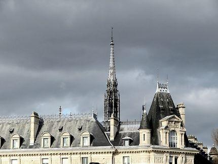 La flèche de la Sainte Chapelle