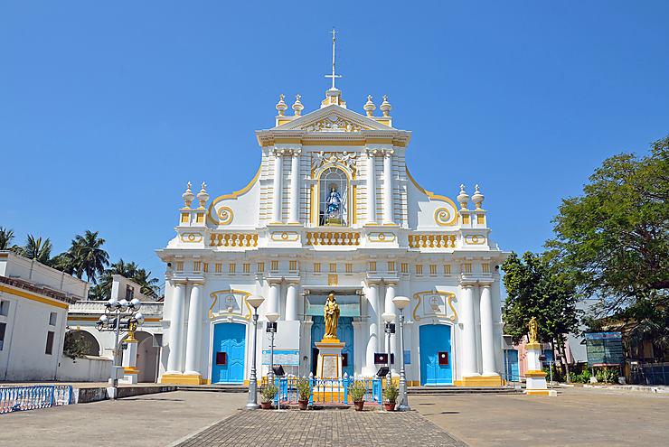 Pondichéry et le Tamil Nadu (Inde)