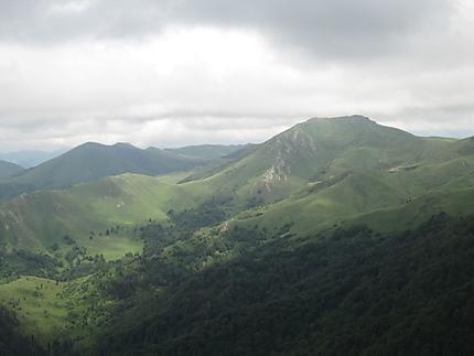 Montagnes de Bakuriani