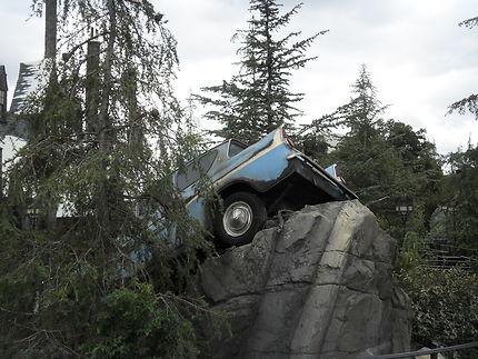 La voiture de Ron Weasley