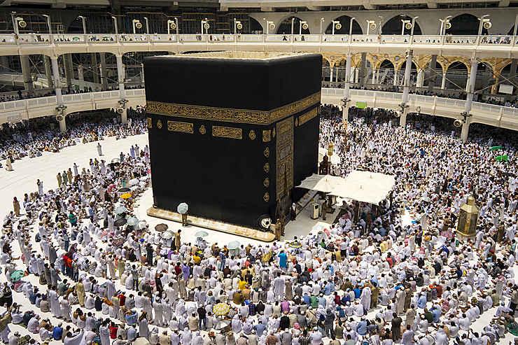 Le pèlerinage de La Mecque (Arabie Saoudite)
