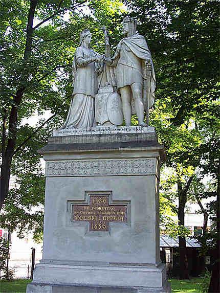 Monument à Hedwige et Ladislas
