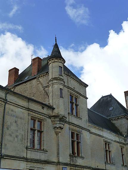 Fenêtres du Château de Coulonges-sur-l'Autize