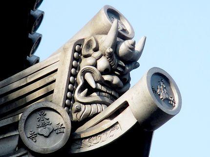 Décorations et emblèmes du temple Sengaku-ji