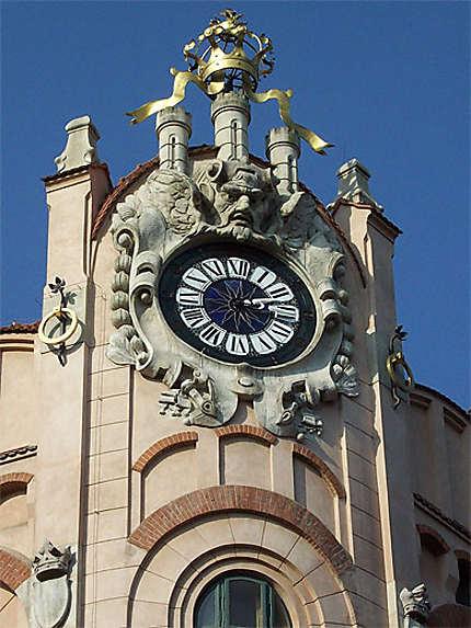 Akademia Handlowa : horloge