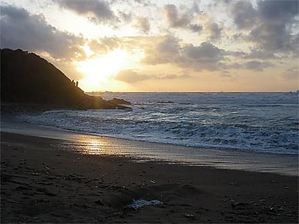 Couché de soleil - Pays-Basque