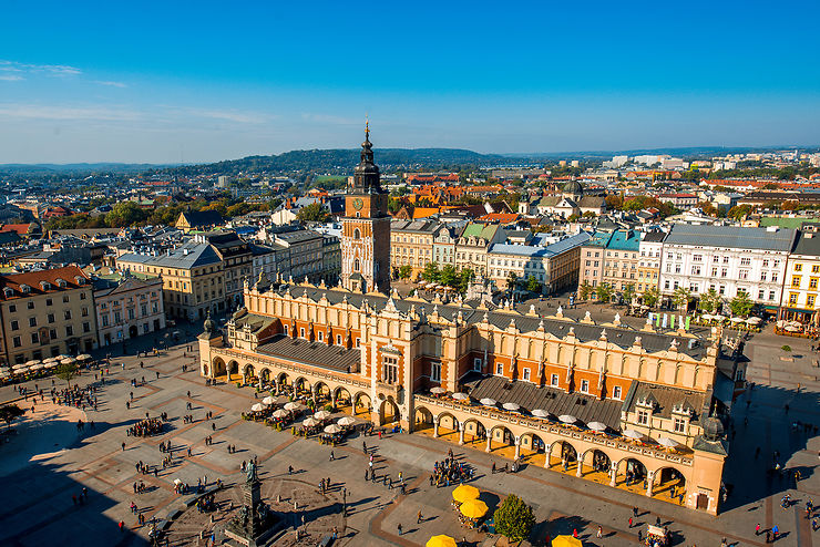 Rynek Główny : le coeur de Cracovie
