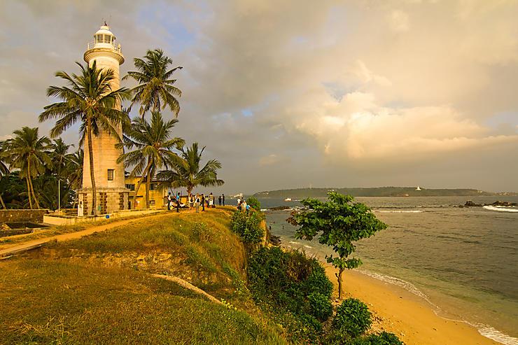 Galle et les plages du sud (Sri Lanka)